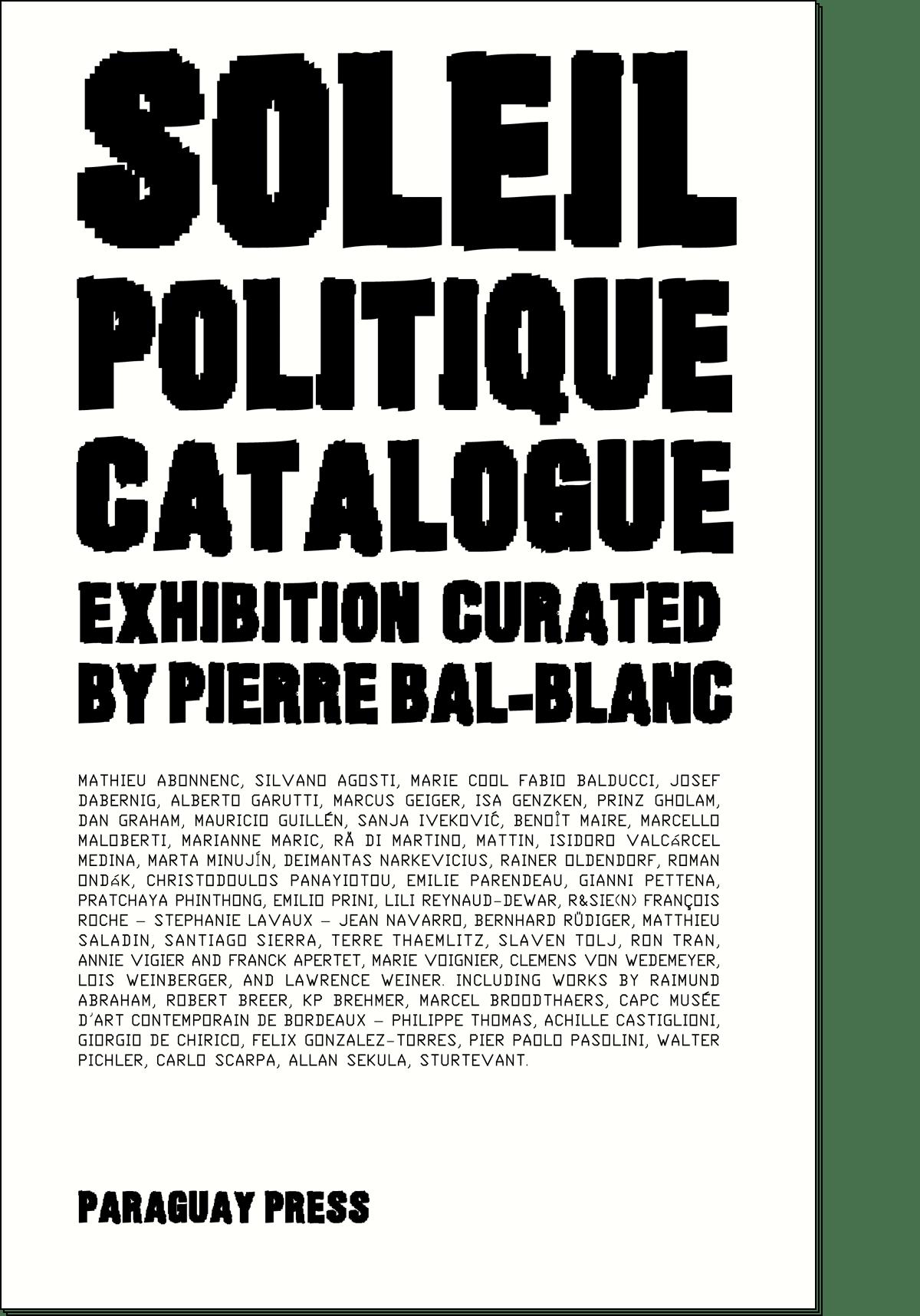 SOLEIL POLITIQUE