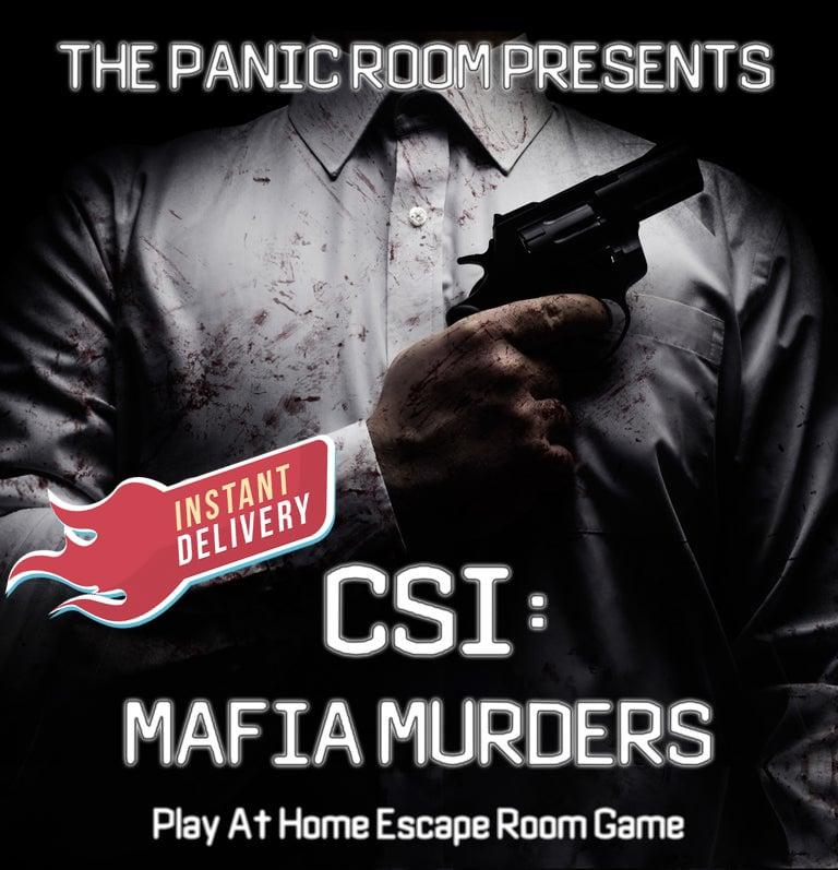 Image of CSI: Mafia Murders - Online Escape Room Experience