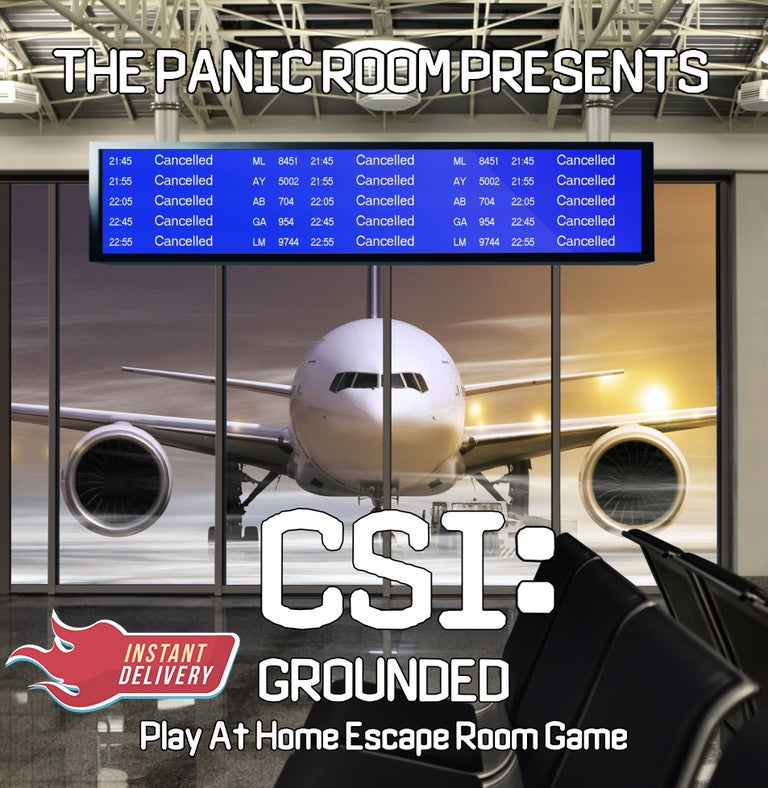 Image of CSI: Grounded - Online Escape Room Experience