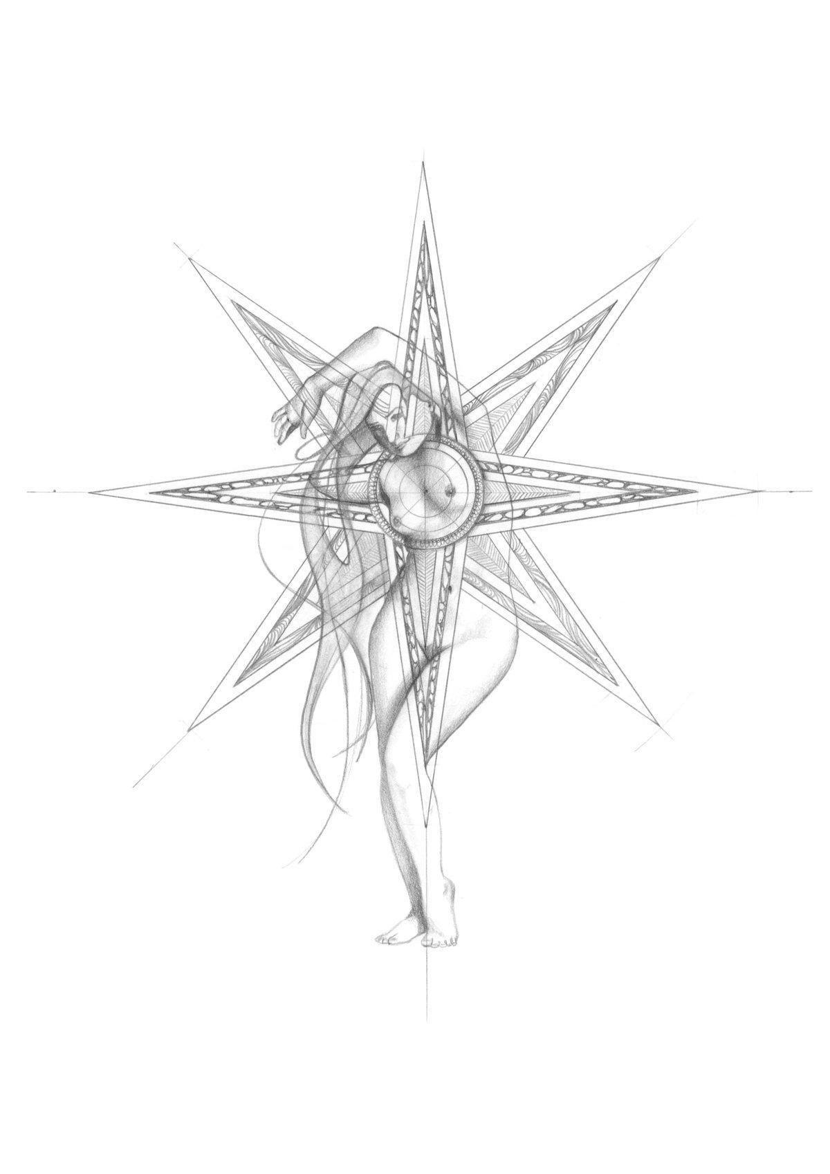 Image of Ishtar-Inanna. Welcoming Venus