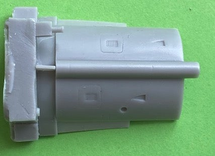 Image of Hawker Hunter F.5 Corrected Spine for Airfix kit
