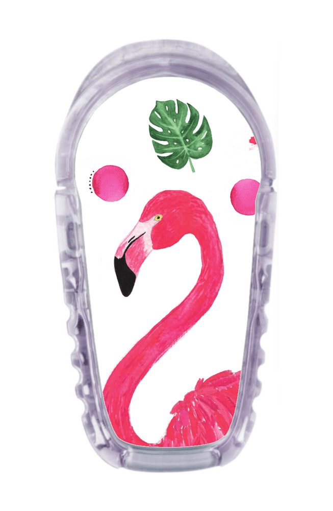 Image of Flamingo Dexcom G6 Transmitter Sticker