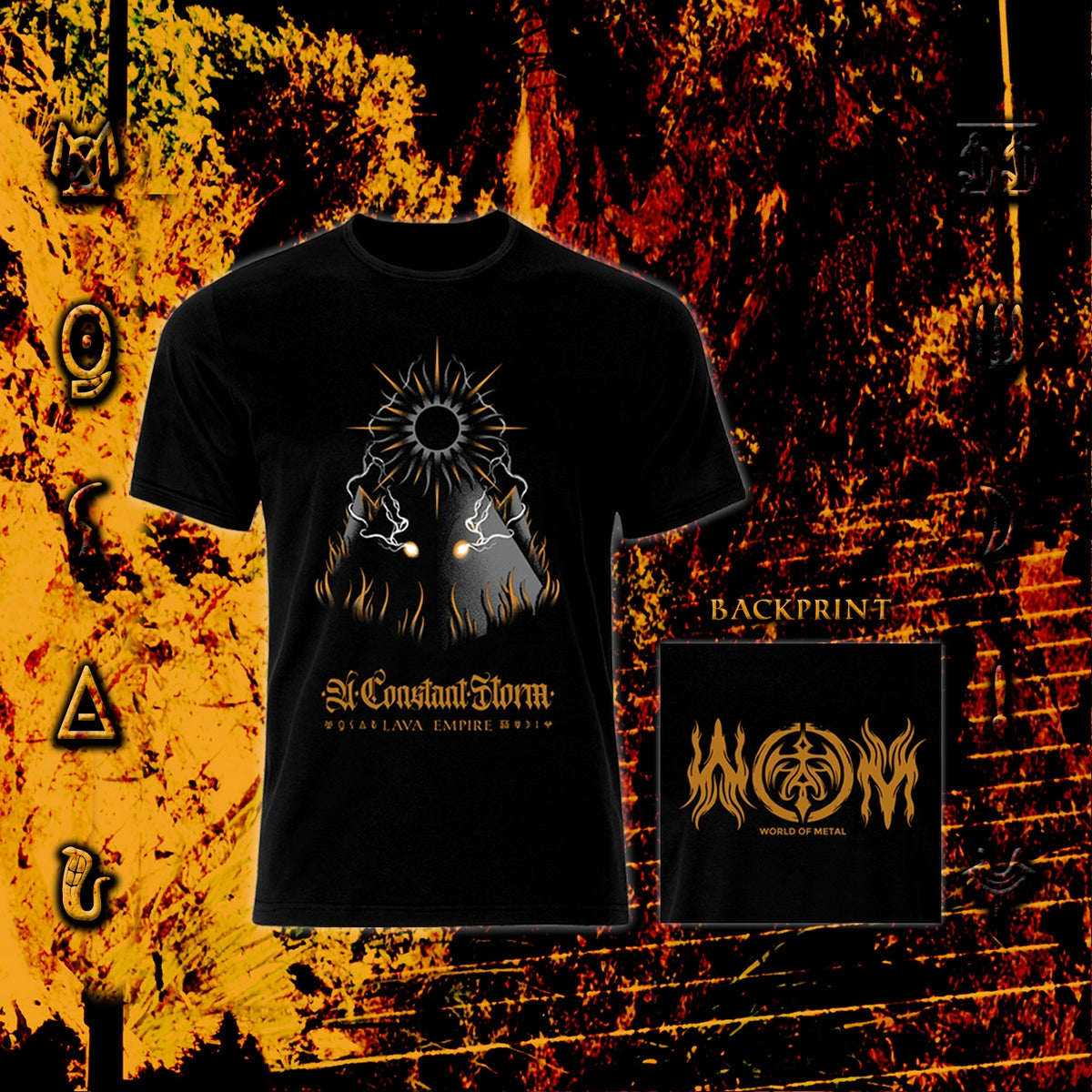 Image of Lava Empire / WOM Ltd. Edition T-Shirt