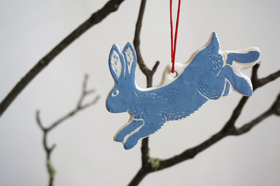 Image of Leaping Hare - Decoration