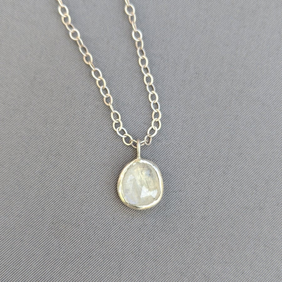 Image of Rainbow Moonstone Pendant #5