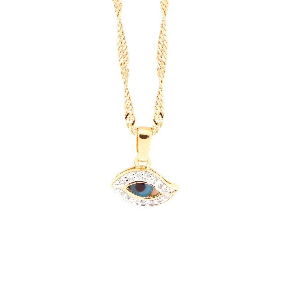 Image of BLUE EYE | NECKLACE