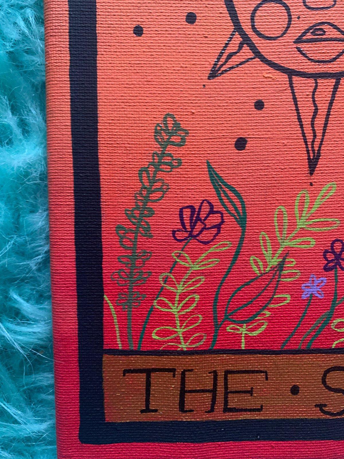 Image of The sun tarot