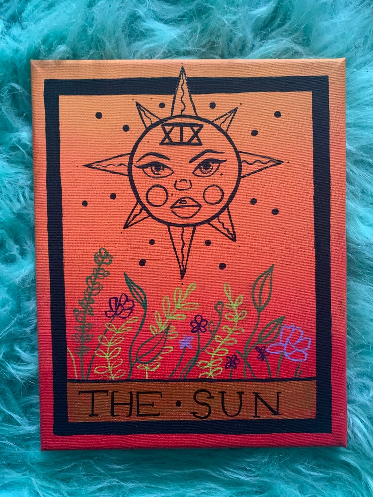 Image of The sun tarot