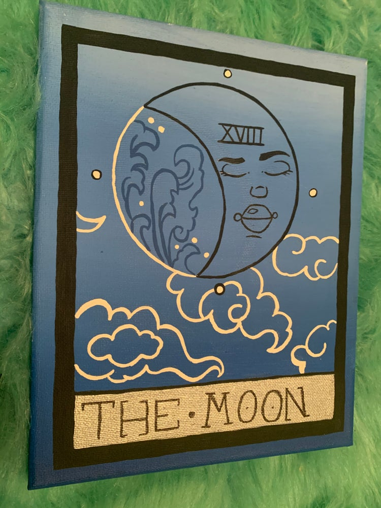 Image of The moon tarot