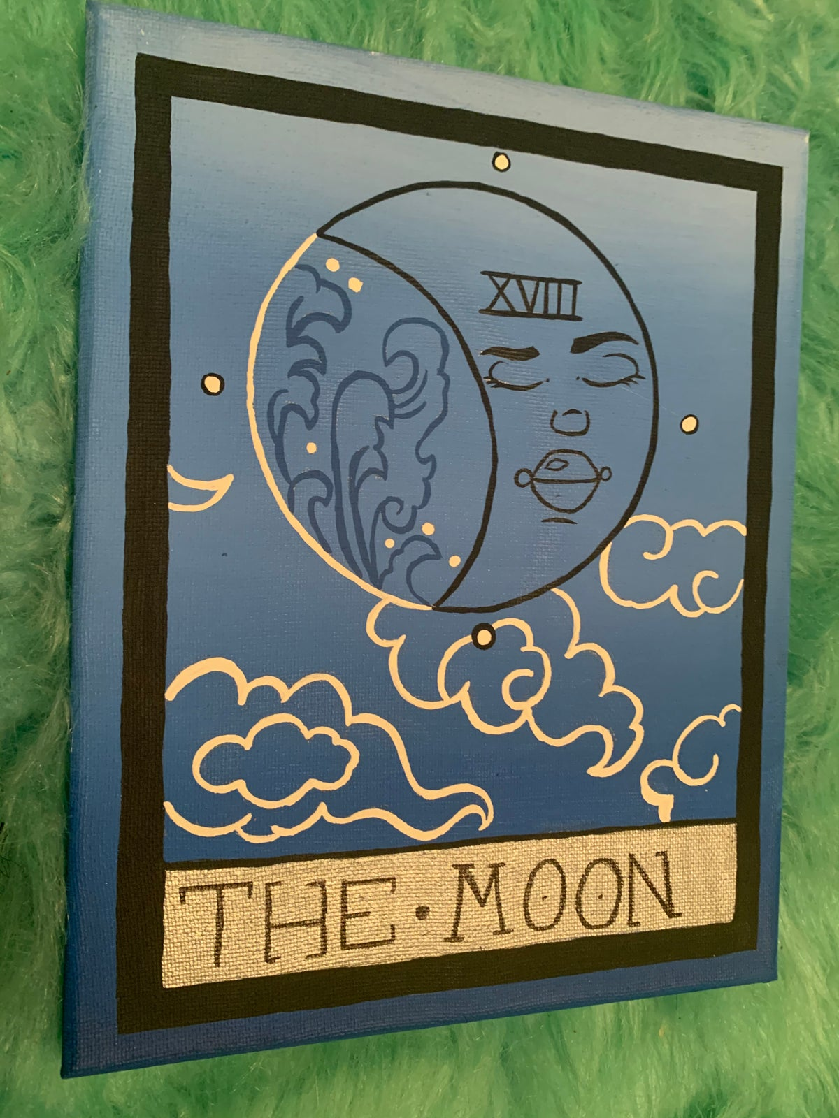 Image of The moon tarot