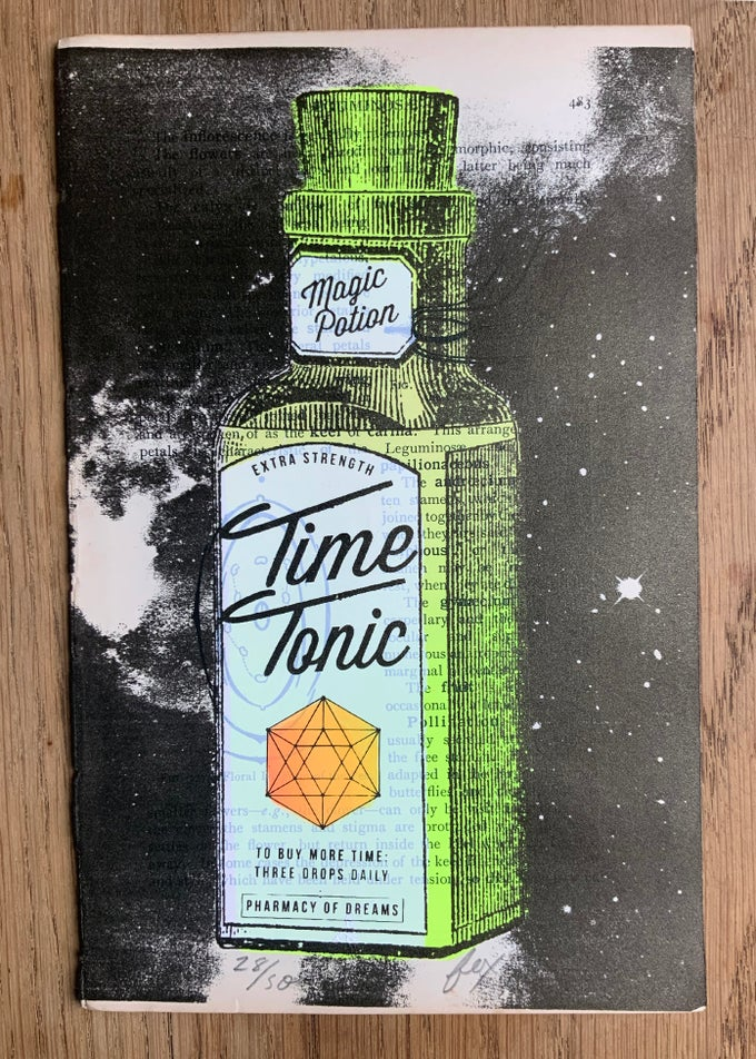 Image of Time Tonic (Colour options)