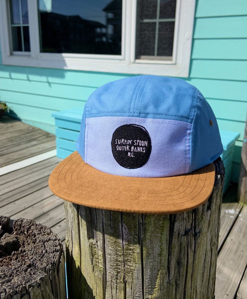 Image of 5 Panel - Blue
