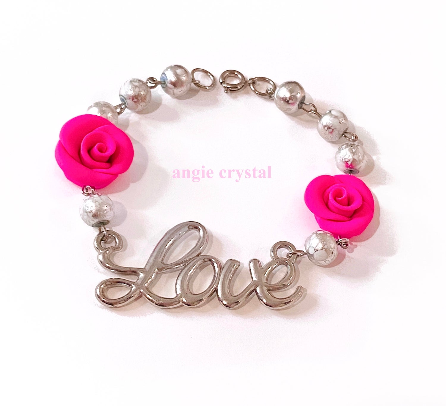 Image of Hot Pink Love Bracelet
