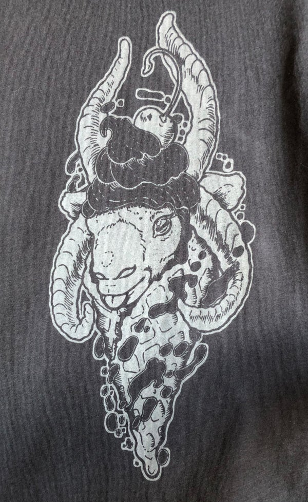 "Image of ""Live Deliciously"" Hand-printed Tank Top LIMITED EDITION"