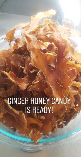 Image of 2 oz. GINGER AND HONEY Candy!❤🌱🤗