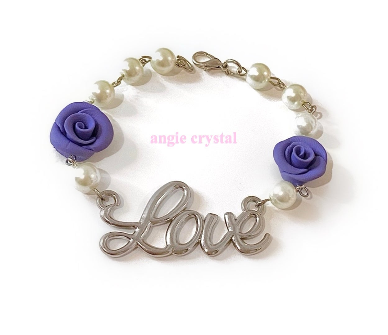 Image of Periwinkle Blue Love Bracelet