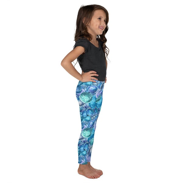 Image of Blue Mermaid's Treasure Kid's Leggings
