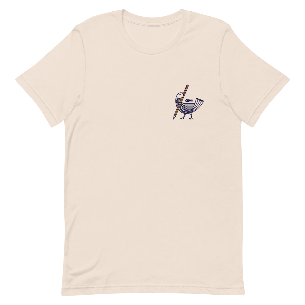 Image of ABV Gallery Drawing Bird T-Shirt