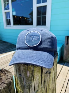 Image of Baseball Cap - Washed Out Navy