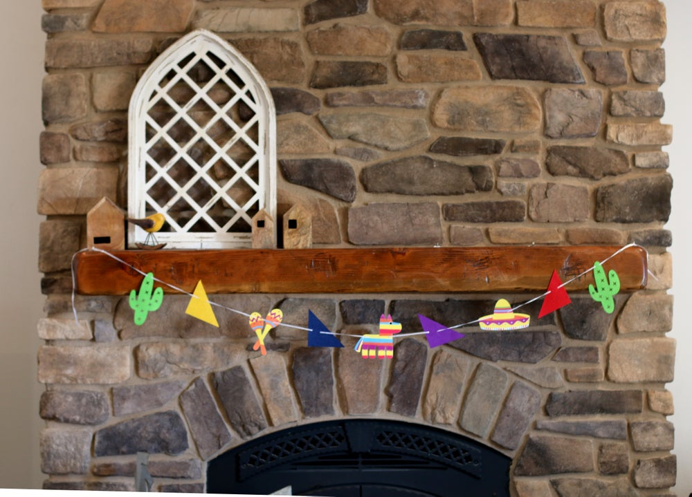 Image of Taco Tuesday/Fiesta Reusable Felt Banners- 3 Styles