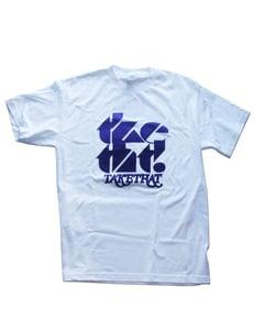 Image of tketht! White logo t-shirt