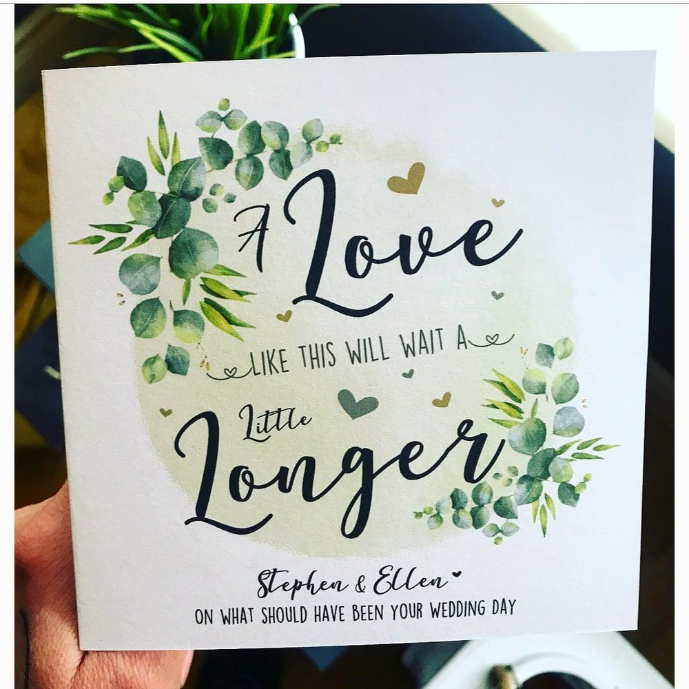 Image of Wedding Postponed Card