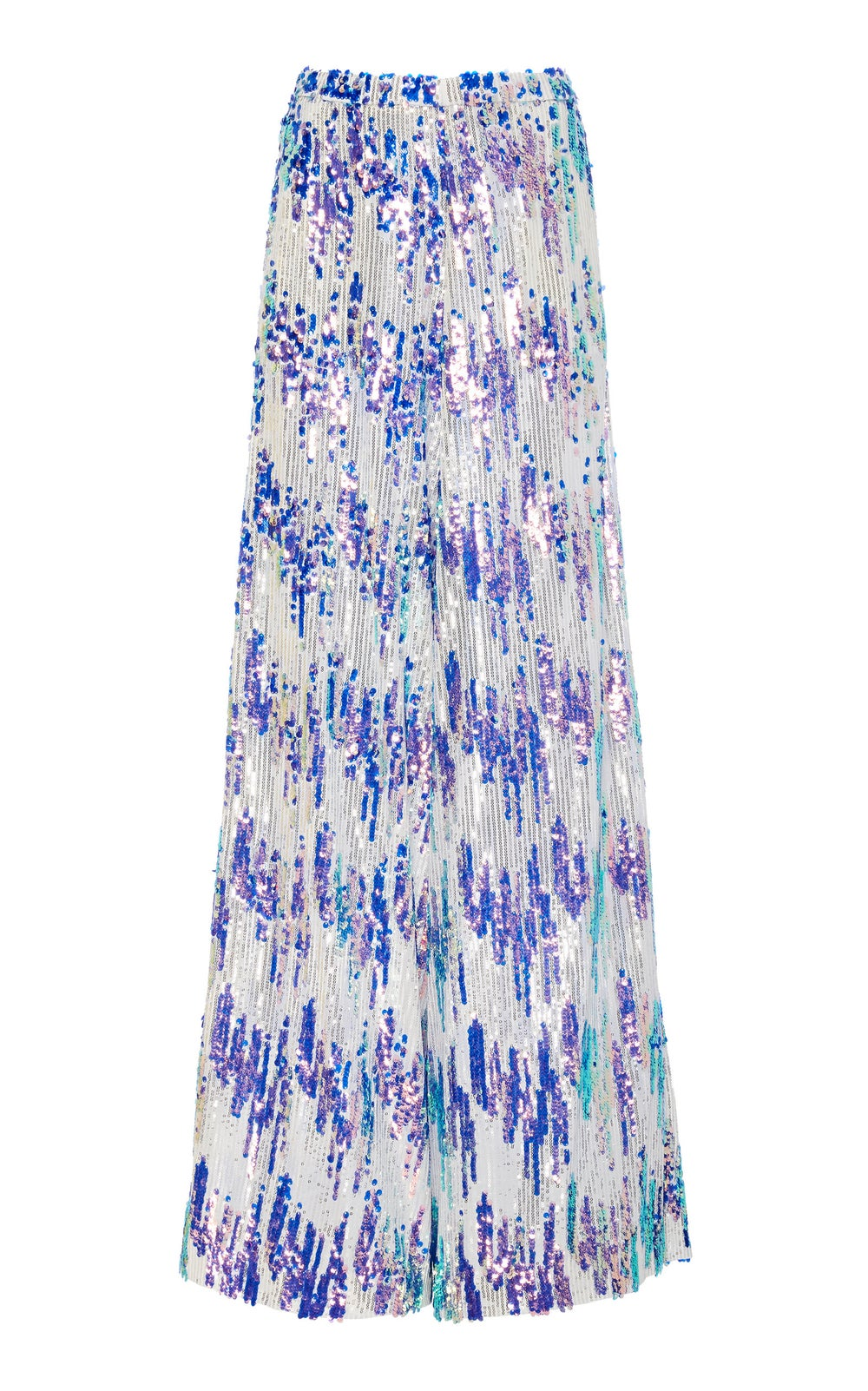 Image of Scattered Sequin Wide Leg Trouser