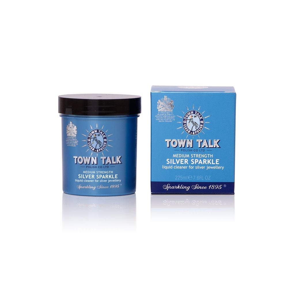 Image of Town Talk Silver Sparkle - Tarnish removal dip