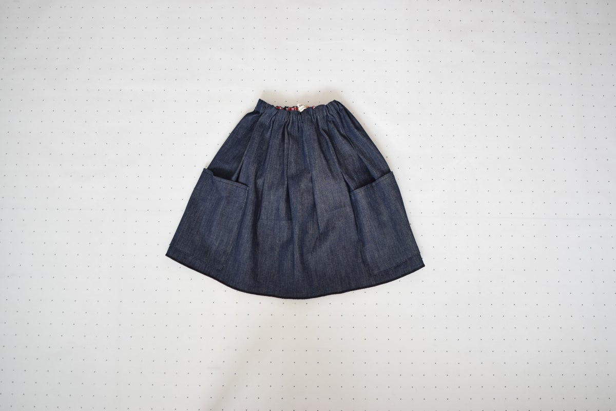 Image of DENIM SKIRT