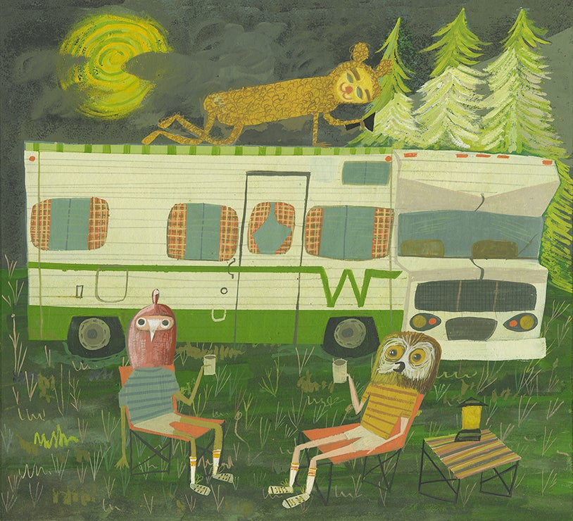 Image of Life after quarantine. Limited edition print.
