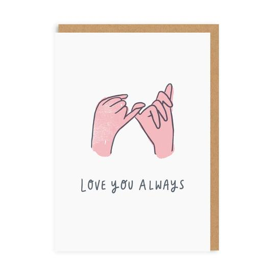 Image of Love You Always Greeting Card