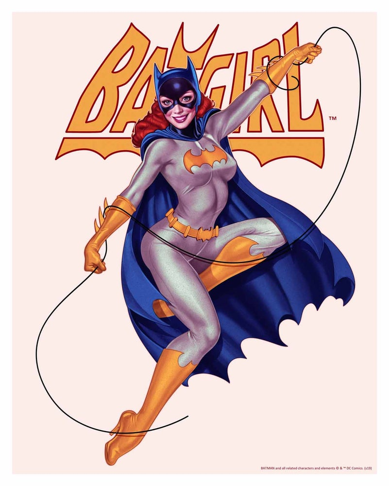 Image of Batgirl Silverage with Title