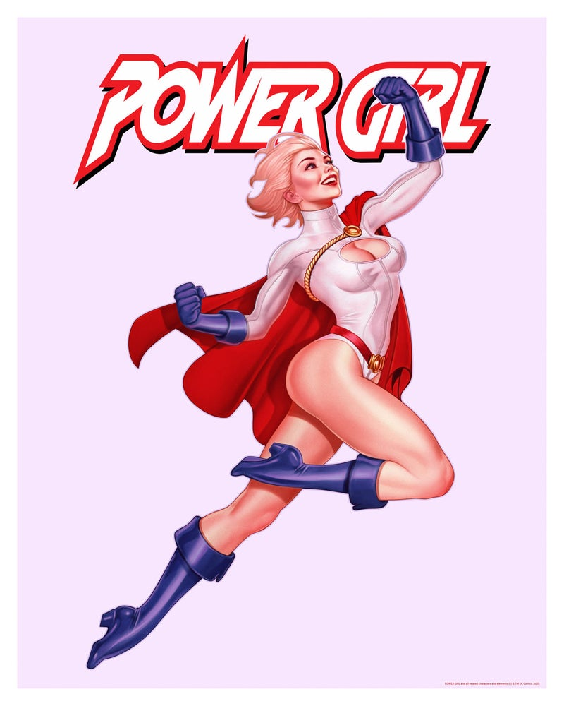 Image of Power Girl Titled
