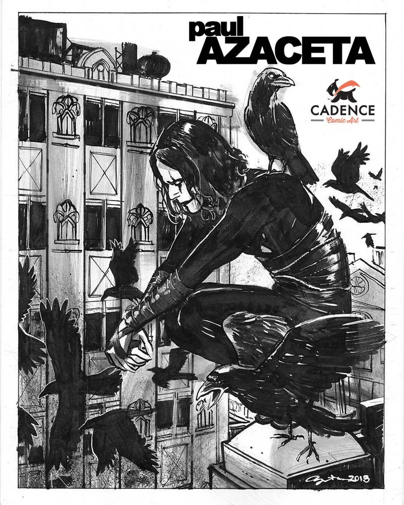 Image of Paul Azaceta Commission (Mail Order) List reopens Thursday 7/09/20 @ 3PM EST
