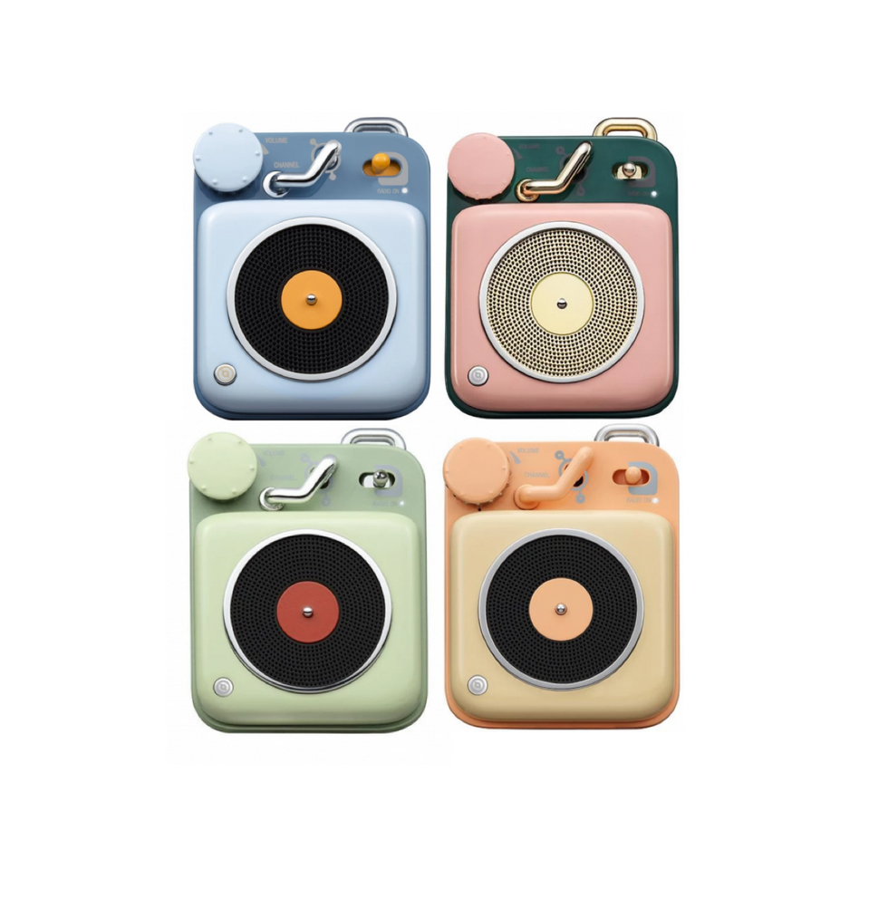Image of Muzen Button Speaker (multiple colors)
