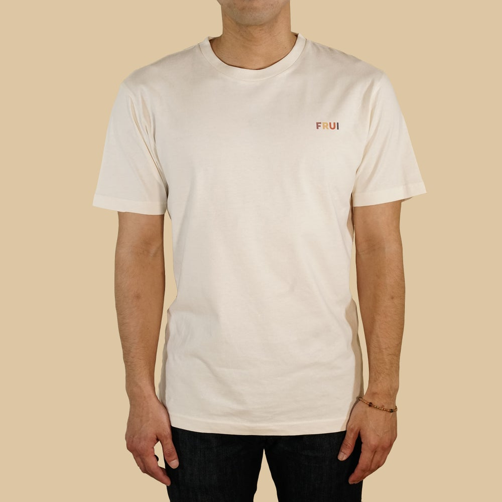 FRUI Multi-color Simple logo Tee