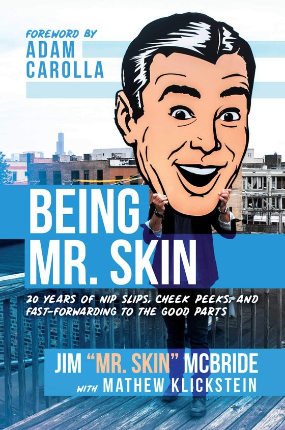 Image of Being Mr Skin - Autographed Copy