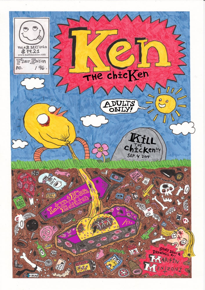 Image of Ken the chicKen Vol.3 (DELUXXXE Edition) (ORIGINAL A5)