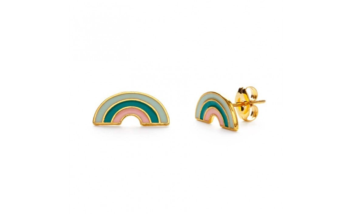 Image of Tropical Rainbow Studs