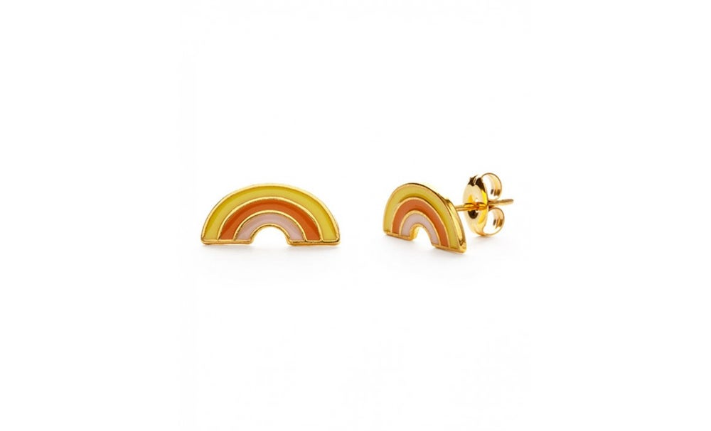 Image of Retro Rainbow Studs