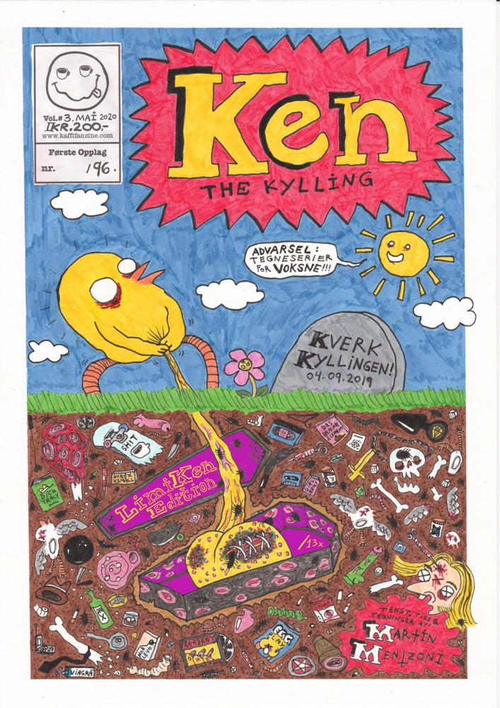 Image of Ken the Kylling Vol.3 (DELUXXXE Edition) (ORIGINAL A4)