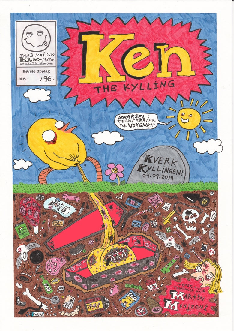 Image of Ken the Kylling Vol.3