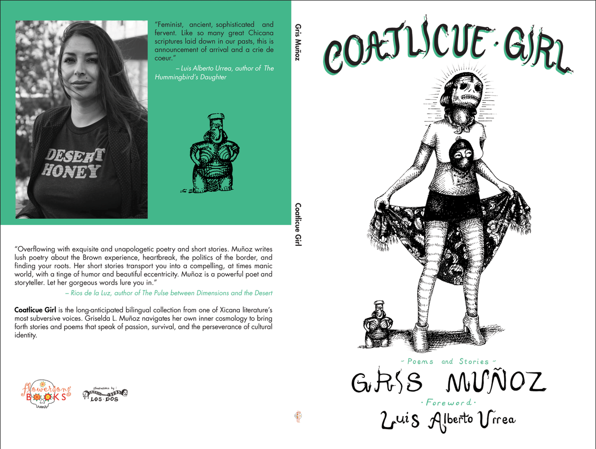 Coatlicue Girl: Poems and Stories by Gris Muñoz