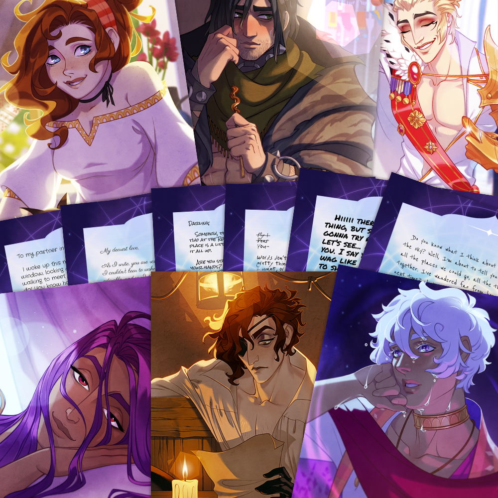 Image of The Arcana ✦ Love Letters (PHYSICAL)