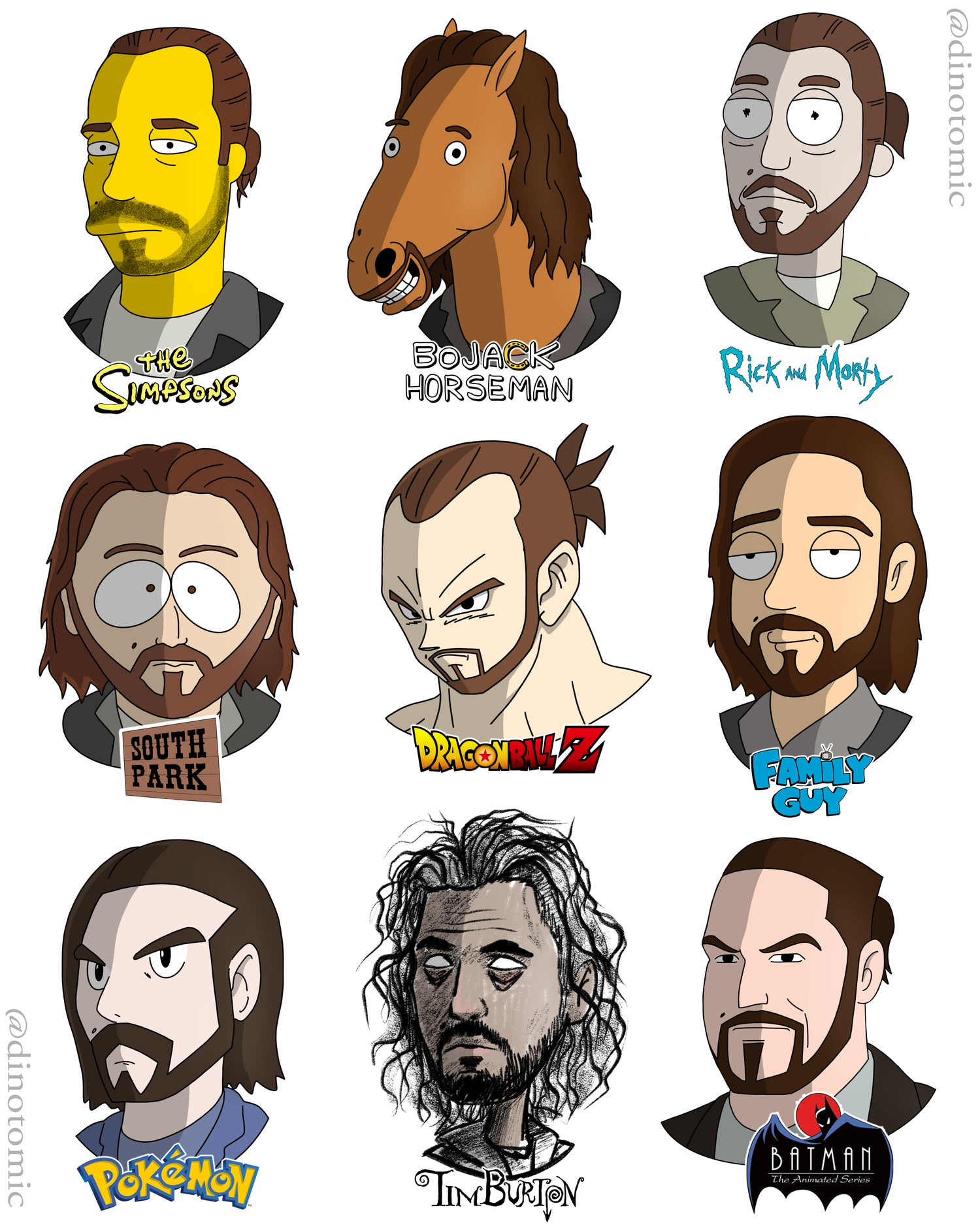 Image of #198 Dimitri Vegas in many styles