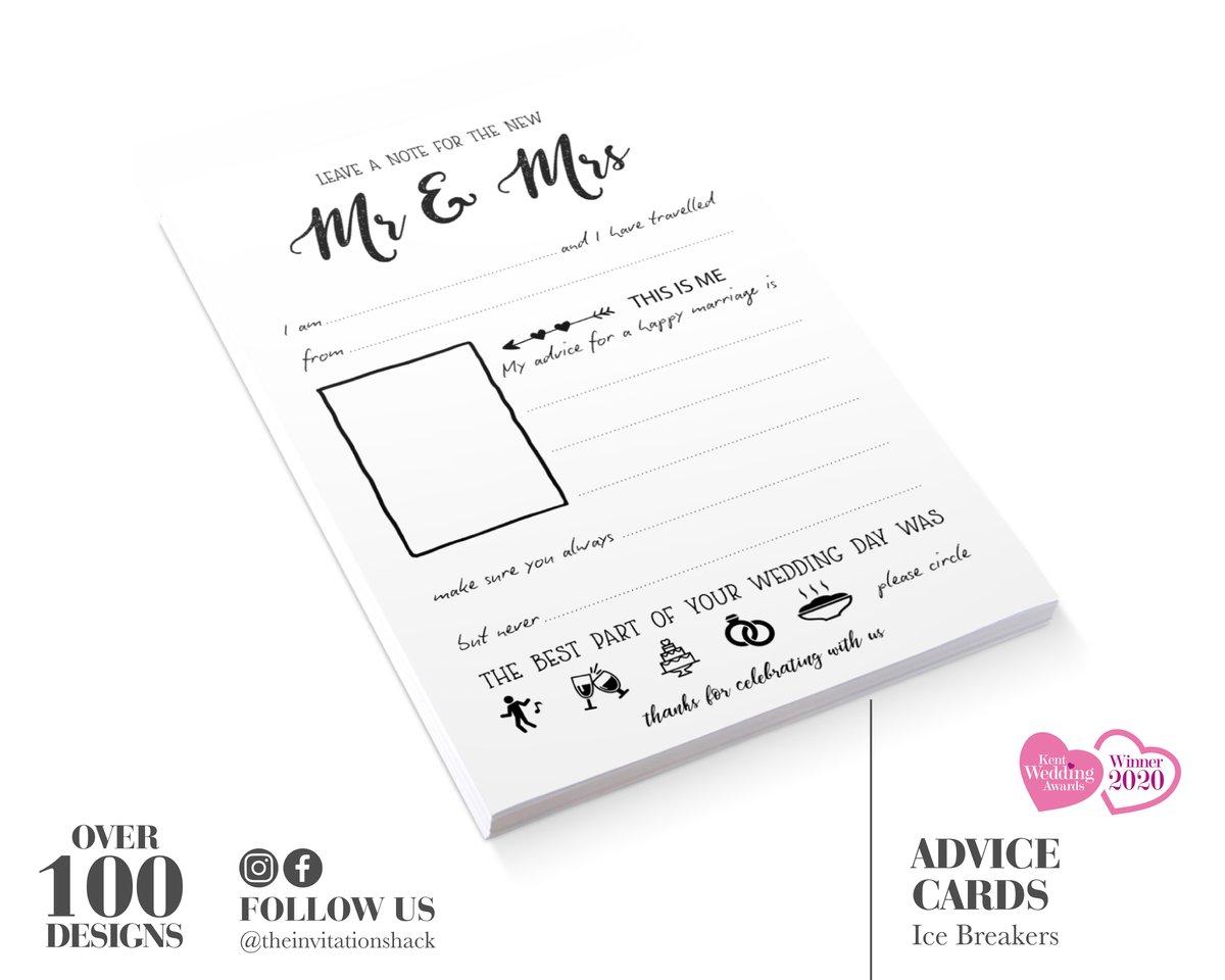 Wedding Advice Cards