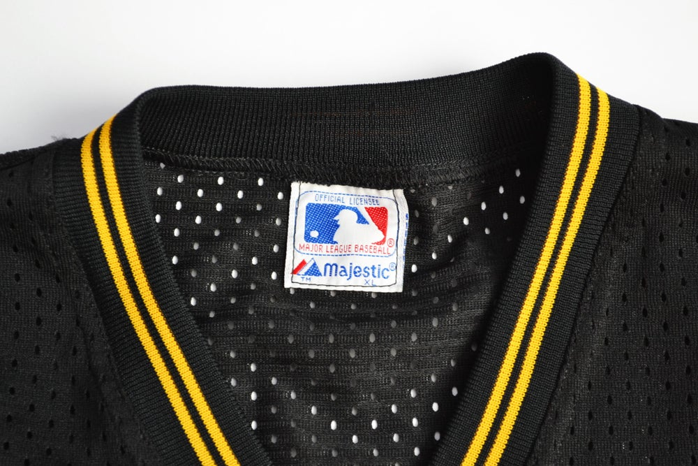 Image of Vintage 1980's Pittsburgh Pirates Majestic Batting Practice Jersey Sz.XL