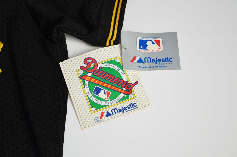 Image of Vintage 1980's Pittsburgh Pirates Majestic Batting Practice Jersey Sz.XL