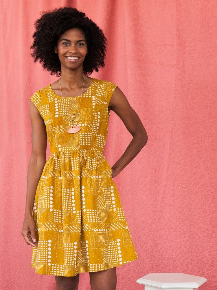 Image of Chilmark Dress - Gold
