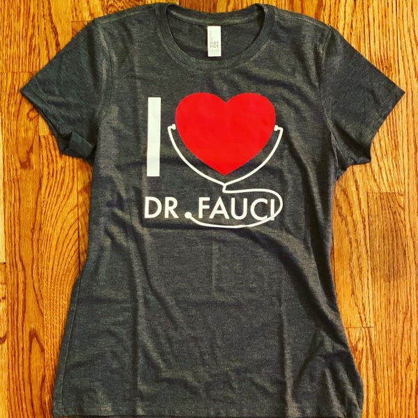 Image of Dr. Fauci Women's T-Shirt